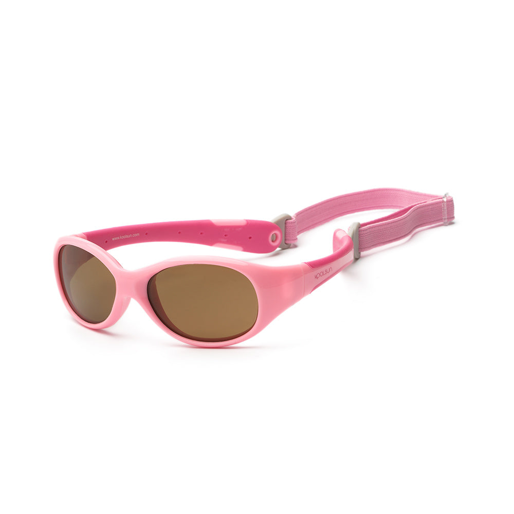 Koolsun Flex Baby Sunglasses - Pink Sorbet 0-3 yrs