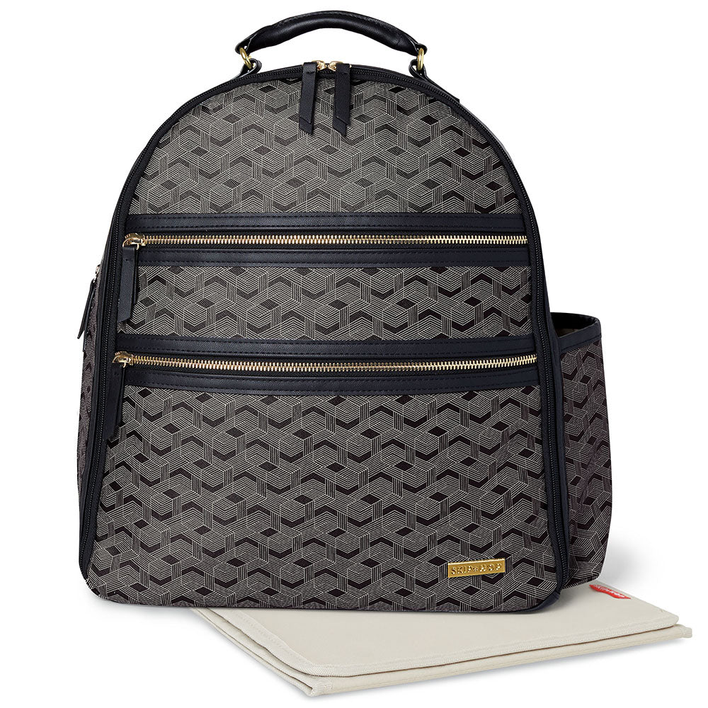 Skip Hop Deco Saffiano Backpack - Interweaved Lines (1)