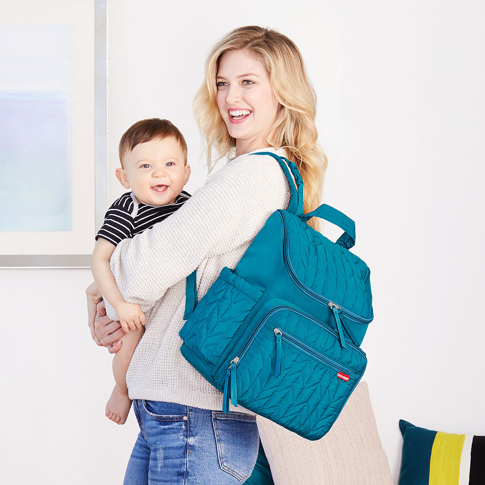 Skip Hop Forma Backpack - Peacock (4)