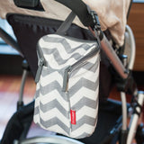 Skip Hop Grab & Go Double Bottle Bag - Chevron (3)