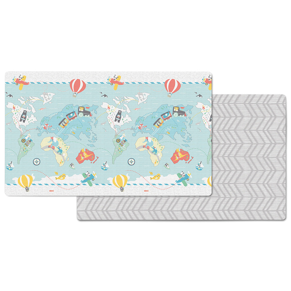 Skip Hop Doubleplay Reversible Playmat - Little Travelers