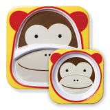 Skip Hop Zoo Melamine Set - Monkey