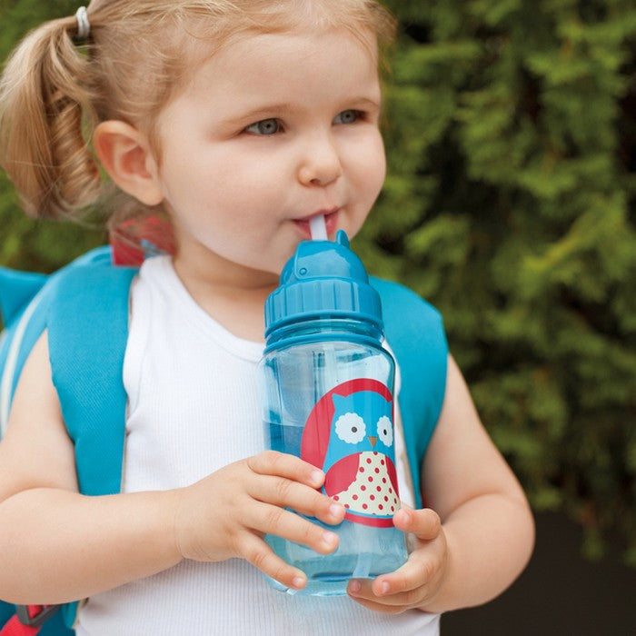 Skip Hop Zoo Straw Bottle - Owl (1)