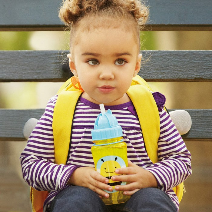 Skip Hop Zoo Straw Bottle - Bee (1)
