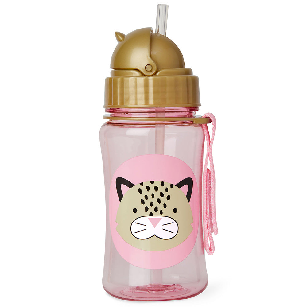 Skip Hop Zoo Straw Bottle - Leopard