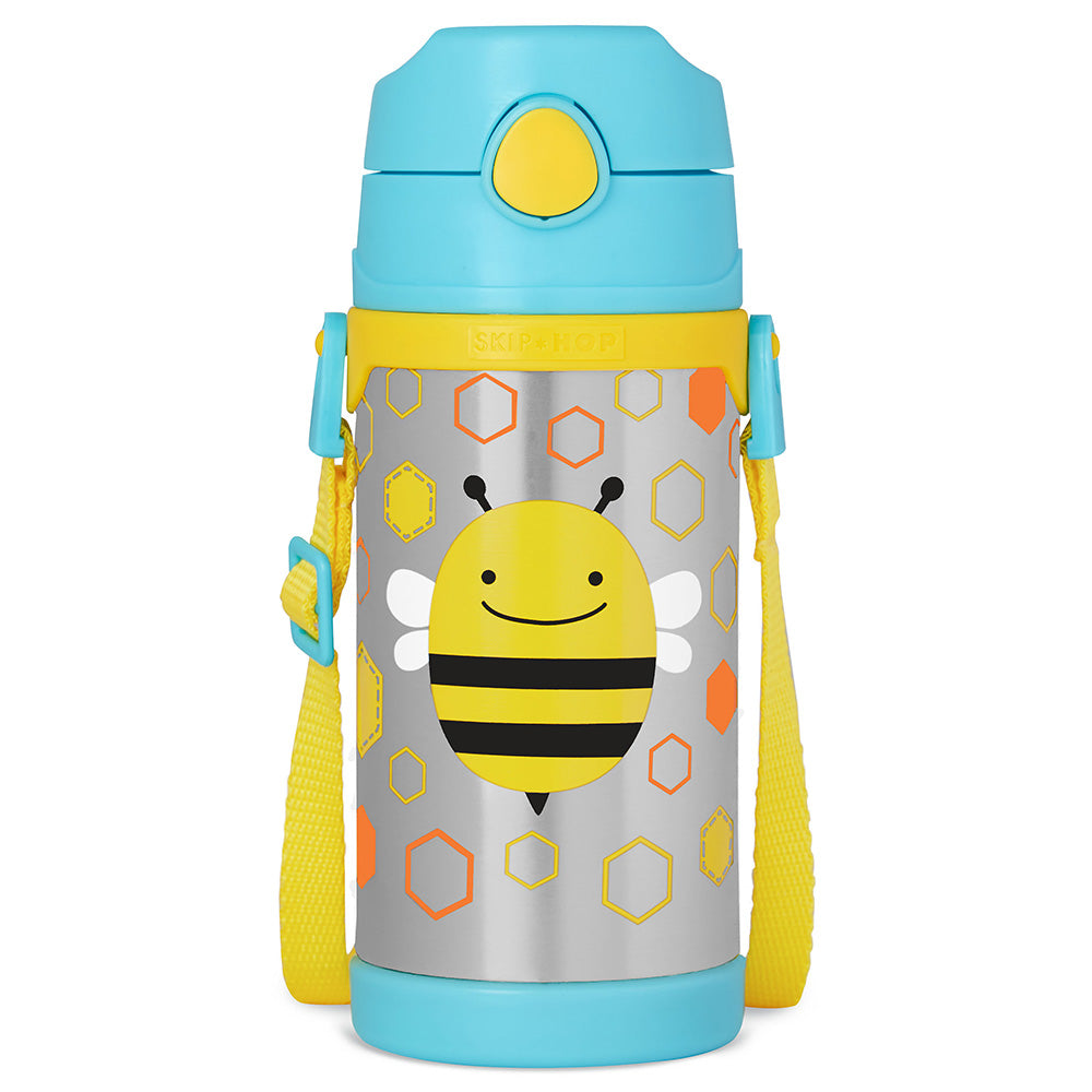 Skip Hop Zoo Insulated Stainless Steel Bottle - Bee