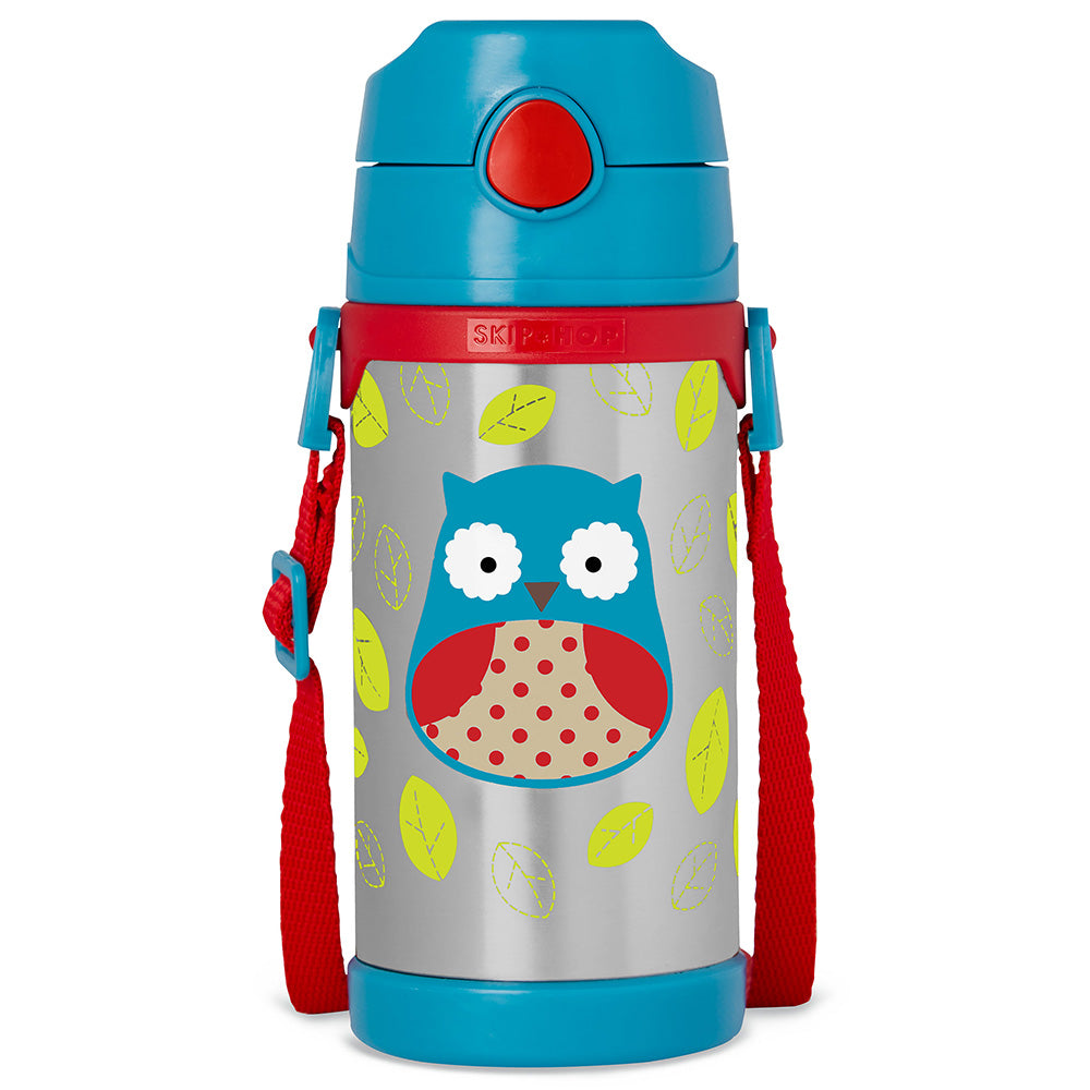 Skip Hop Zoo Insulated Stainless Steel Bottle - Owl