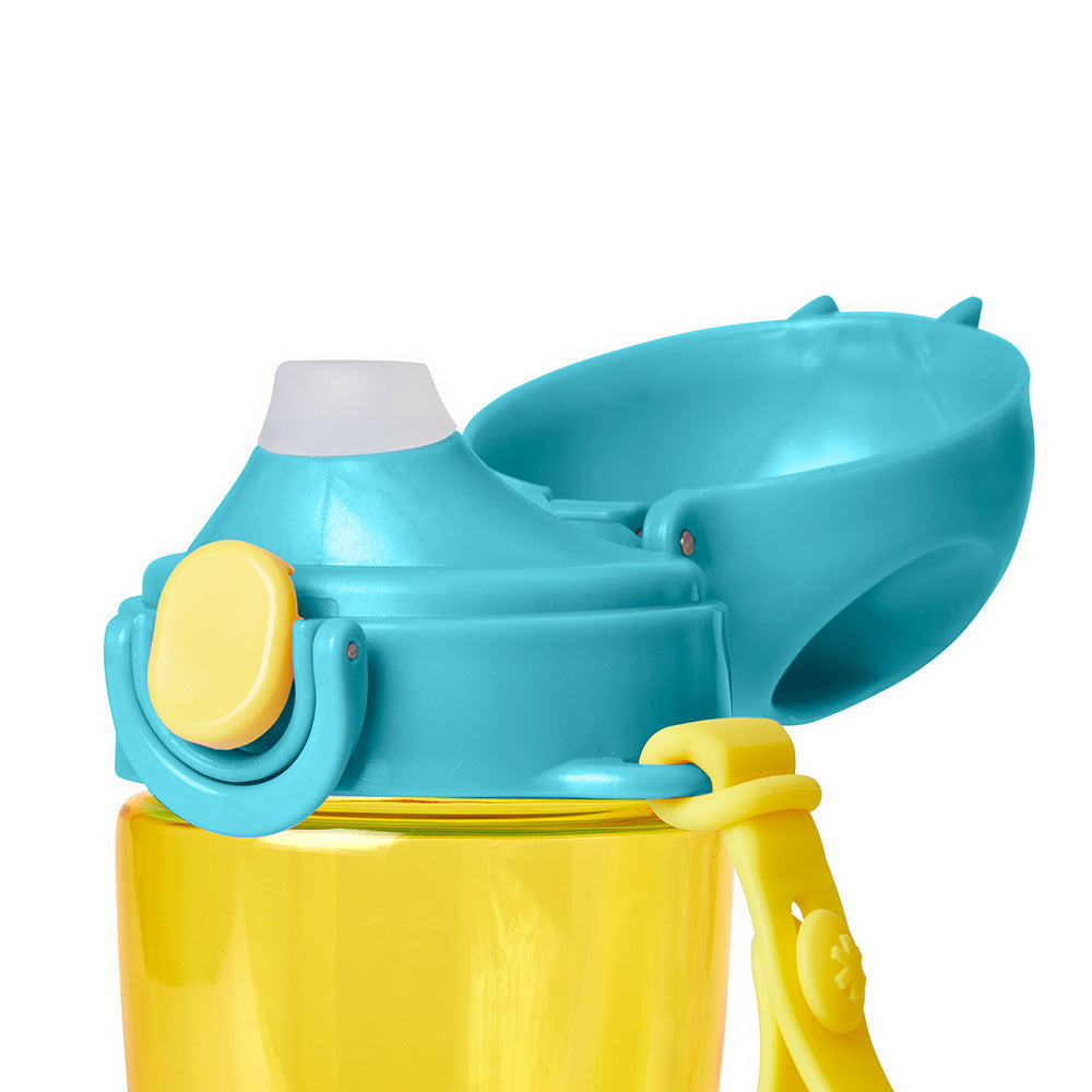 Skip Hop Zoo Lock-Top Sports Bottle (with hand strap) - Bee (4)