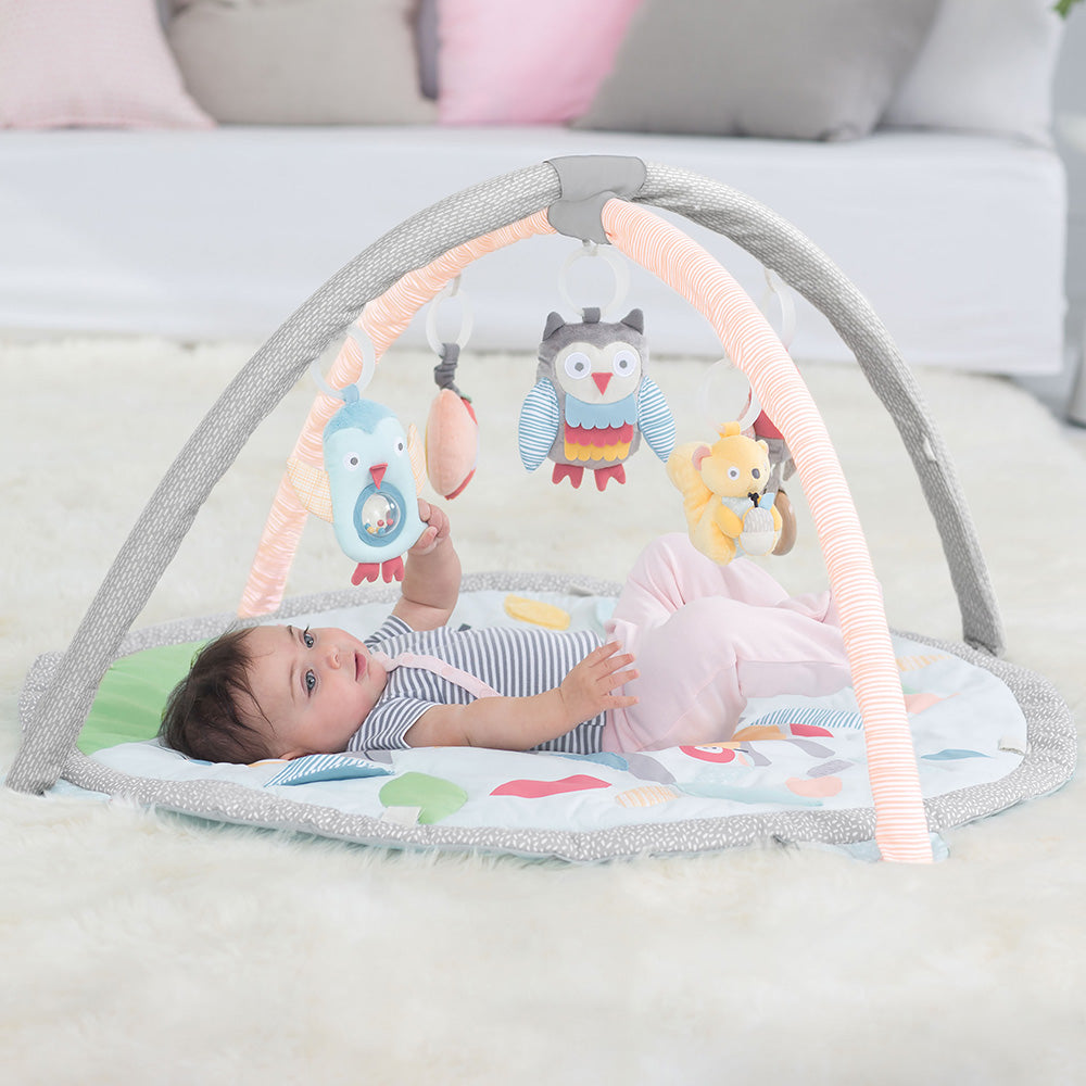 Skip Hop Treetop Friends Baby Activity Gym - Grey/Pastel (1)