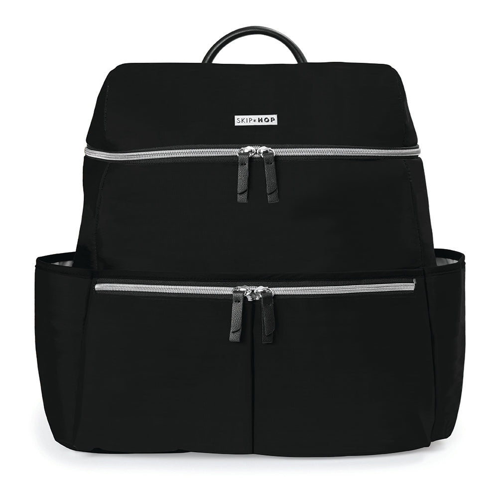 Skip Hop Flatiron Diaper Backpack - Black