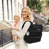 Skip Hop Flatiron Diaper Backpack - Black (3)