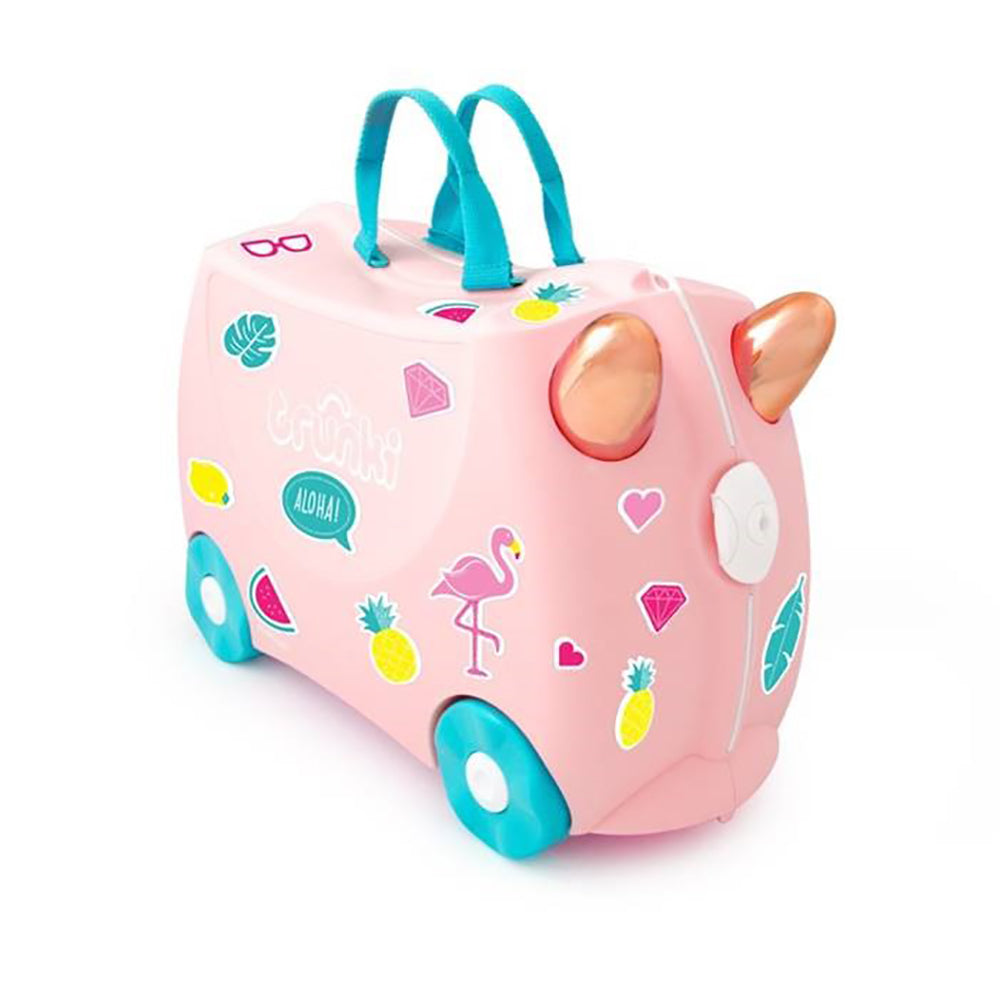 Trunki Suitcase - Flossi the Flamingo