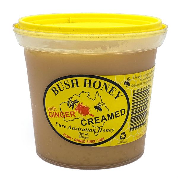 Honey - Creamed with Ginger