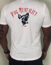 Load image into Gallery viewer, Dog Mentality tee (White)