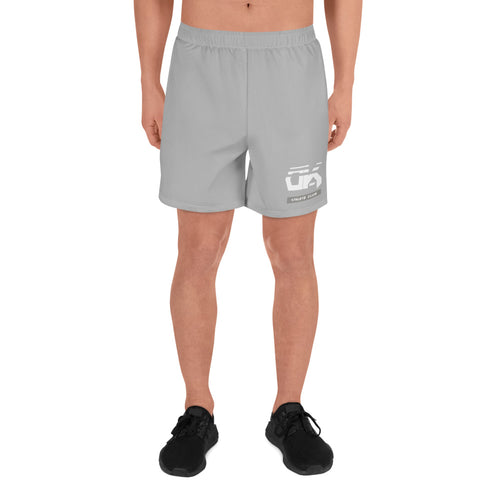 Athletic club run shorts cool gray (unisex)