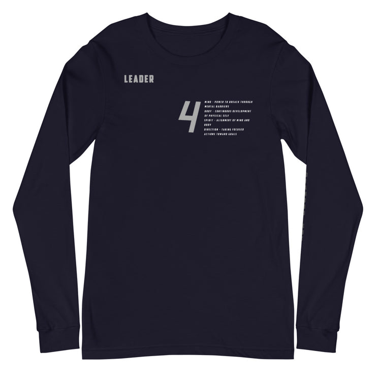 Alignment Long Sleeve Tee (Black November)