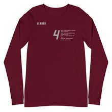 Load image into Gallery viewer, Alignment Long Sleeve Tee (Black November)