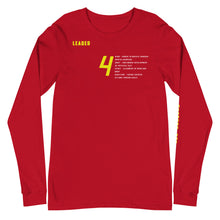 Load image into Gallery viewer, Alignment  Long Sleeve Tee (Red October)