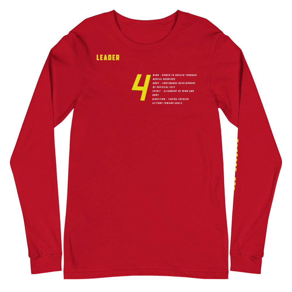 Alignment  Long Sleeve Tee (Red October)