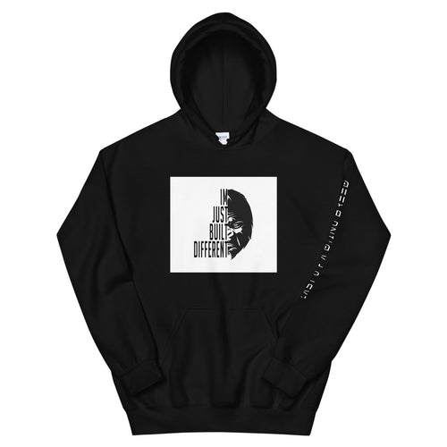 Built Different Unisex Hoodie