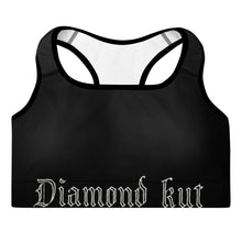 Load image into Gallery viewer, Diamond Kut Classic Padded Sports Bra