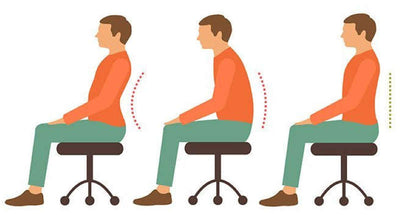 How to maintain proper posture when seated