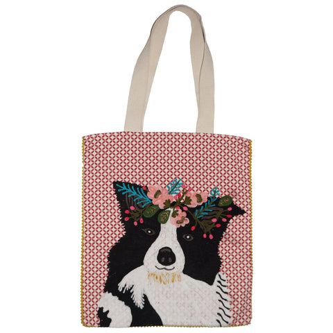 Dog Bag - Border Collie - Multicolour