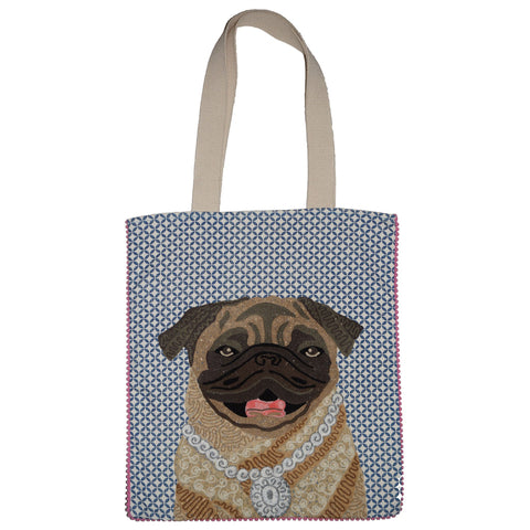 Dog Bag - Pug - Multicolour