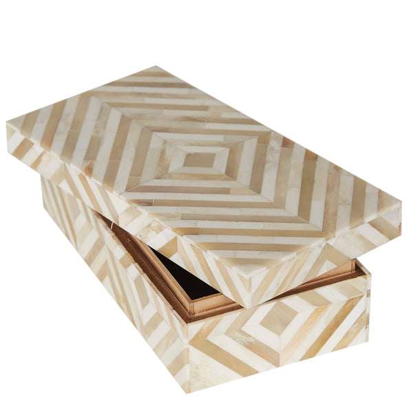 Bone Box - Diamond - Cream