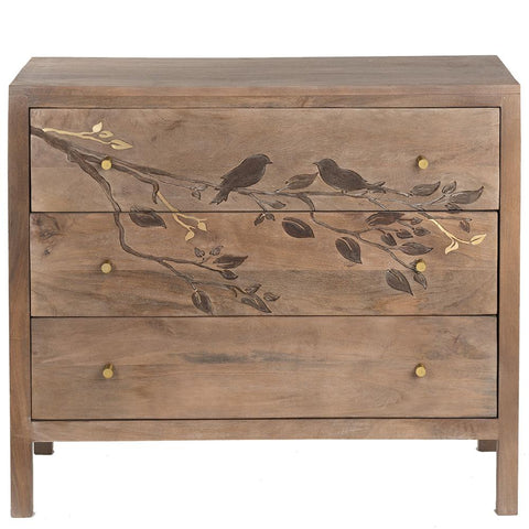 Nightingale 3-Drawer Chest - Natural