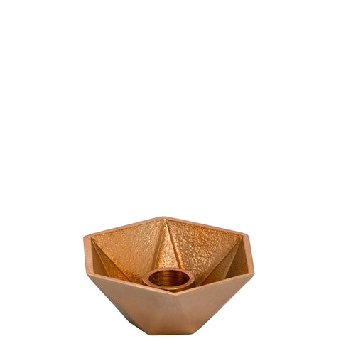 Honeycomb Candleholder - Single - Copper