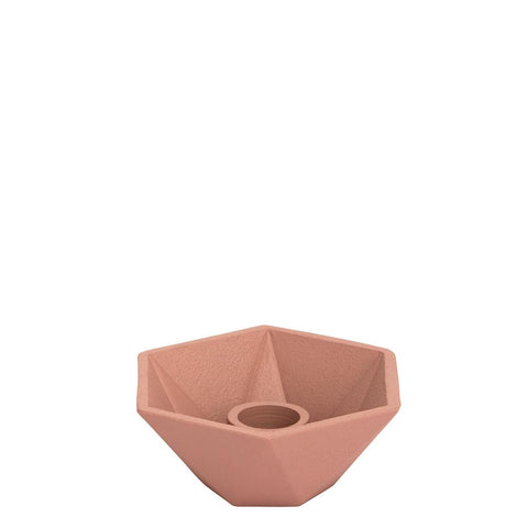 Honeycomb Candleholder - Single - Pink