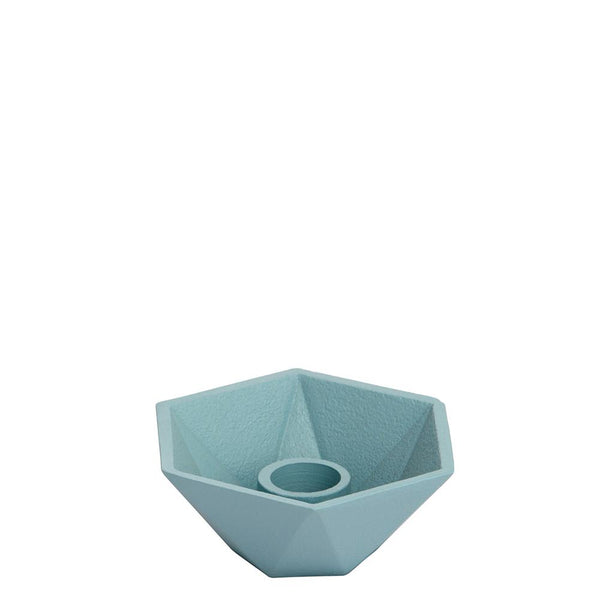 Honeycomb Candleholder - Single - Blue
