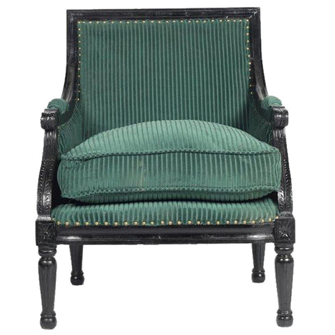 Lincoln Armchair - Green
