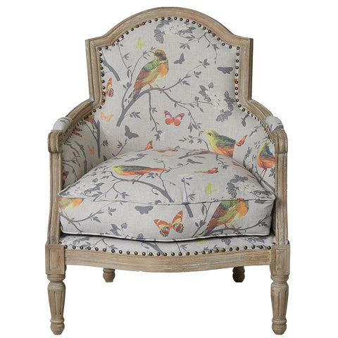Jaipur Chair - Birdsong - Multicolour
