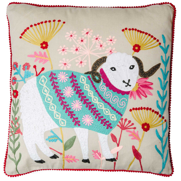 Ram Cushion - Multicolour