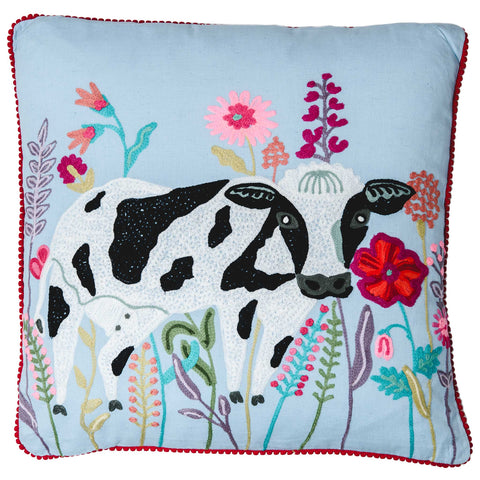 Cow Cushion - Multicolour