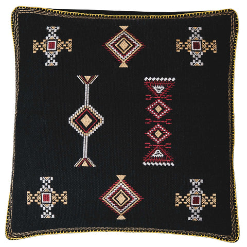 Santa Fe Cushion - Black