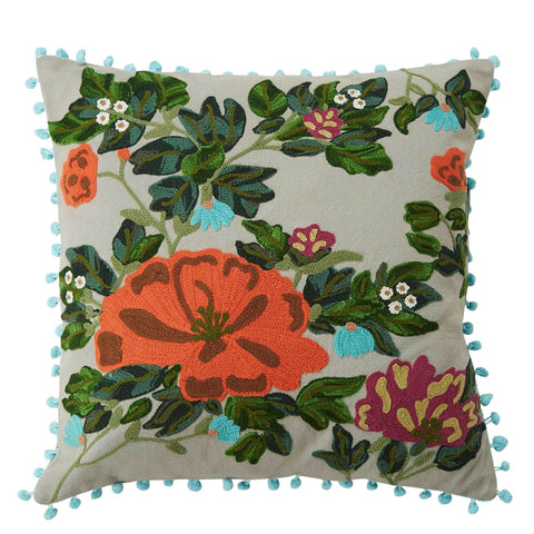 Native Flora Cushion - Multicolour
