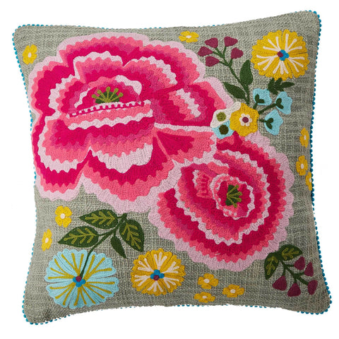 Poppy B Cushion - Multicolour