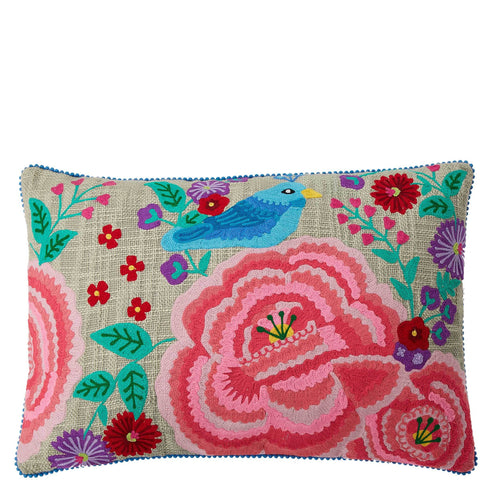 Poppy C Cushion - Multicolour