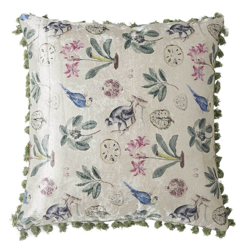 Tropique Cushion - Ivory Multi