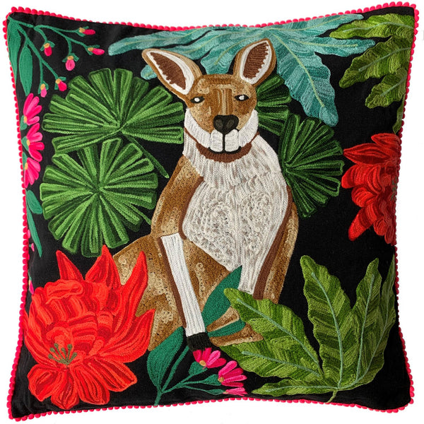 Kangaroo Cushion - Multicolour