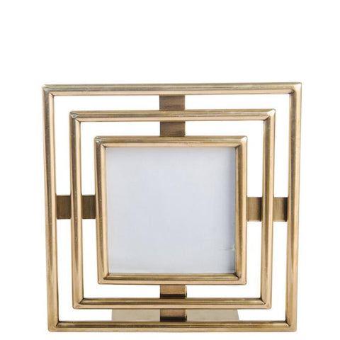 Art Deco Photo Frame - Small - Gold