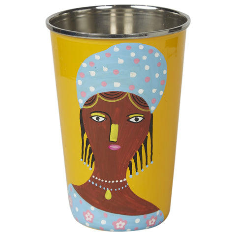 Global Village Tumbler - Yellow