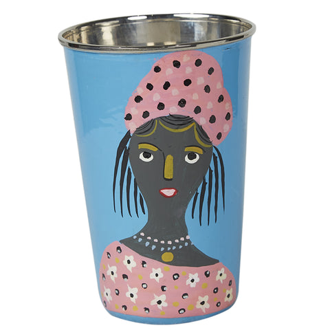 Global Village Tumbler - Blue