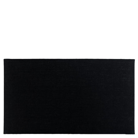 Rectangular Shade - Linen - Black