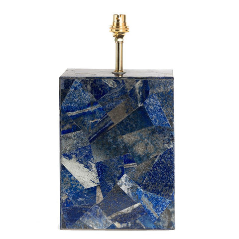 Lapis Lamp Base - Blue