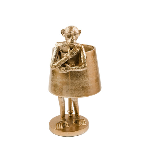Monkey Lamp - New Bronze