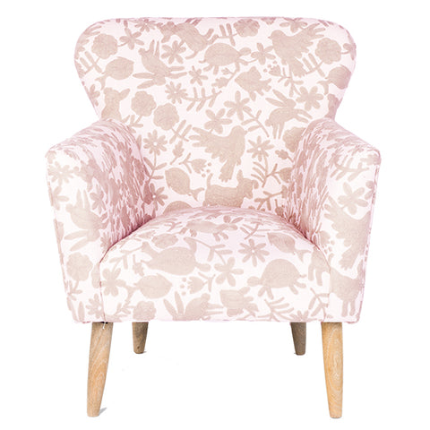 Animalitos Occasional Chair - Pale Pink